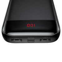 Дополнительный аккумулятор PowerBank Baseus Mini Cu diital display 20000mAh  PPALL-CKU01
