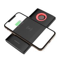 Внешний аккумулятор BOROFONE BT16 AirPower Wireless Charging Mobile Power Bank (10000mAh) черный