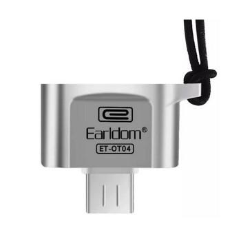 Адаптер OTG EarlDom ET-OT04 silver