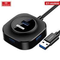 USB HUB EarlDom ET-HUB06 black