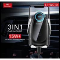 Держатель автомобильный Wireless Charge EarlDom ET-WC10 Black