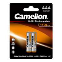 Аккумулятор  Camelion R03 AAA BL2 NI-MH 1100mAh (2/24/480/17280)