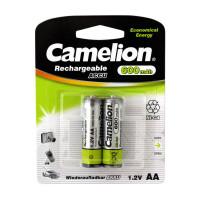 Аккумулятор  Camelion R6 AA BL2 NI-CD 600mAh (2/24/480)