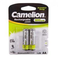 Аккумулятор  Camelion R6 AA BL2 NI-CD 800mAh (2/24/480)