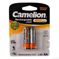 Аккумулятор  Camelion R6 AA BL2 NI-MH 1500mAh (2/24/384)