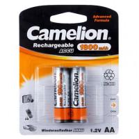 Аккумулятор  Camelion R6 AA BL2 NI-MH 1800mAh (2/24/384)