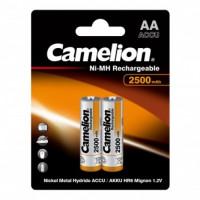 Аккумулятор  Camelion R6 AA BL2 NI-MH 2500mAh (2/24/384)