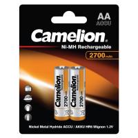 Аккумулятор  Camelion R6 AA BL2 NI-MH 2700mAh (2/24/384)