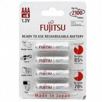 Аккумулятор Fujitsu R03 AAA BL4 NI-MH 800mAh (4/48/576)