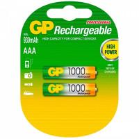Аккумулятор  GP R03 AAA BL2 NI-MH 1000mAh (2/28/224)
