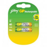 Аккумулятор  GP R03 AAA BL2 NI-MH 750mAh (2/28/224)