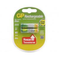 Аккумулятор  GP R03 AAA BL2 NI-MH 850mAh (2/20/200)