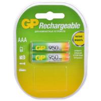 Аккумулятор  GP R03 AAA BL2 NI-MH 950mAh (2/20/200)