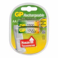 Аккумулятор  GP R6 AA BL2 NI-MH 1300mAh (2/20/200)