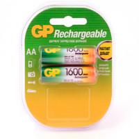 Аккумулятор  GP R6 AA BL2 NI-MH 1600mAh (2/20/200)