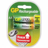 Аккумулятор  GP R6 AA BL2 NI-MH 2100mAh (2/20/200)