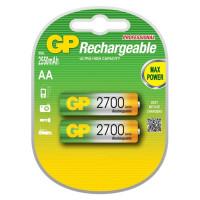 Аккумулятор  GP R6 AA BL2 NI-MH 2700mAh (2/20/160)