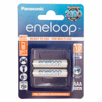Аккумулятор  Panasonic R03 AAA BL2 NI-MH eneloop 750mAh (2/20/240)