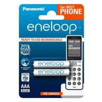 Аккумулятор  Panasonic R03 AAA BL2 NI-MH eneloop DECT 750mAh (2/20/240)
