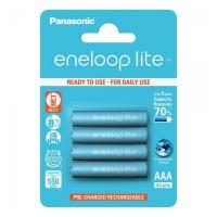 Аккумулятор  Panasonic R03 AAA BL4 NI-MH eneloop lite 550mAh (4/48/576)