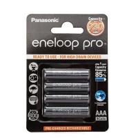 Аккумулятор  Panasonic R03 AAA BL4 NI-MH eneloop pro 930mAh (4/48/576)