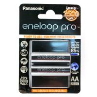 Аккумулятор  Panasonic R6 AA BL2 NI-MH eneloop pro 2500mAh (2/16/192)