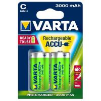 Аккумулятор  Varta R14 C BL2 NI-MH R2U 3000mAh