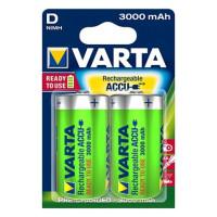 Аккумулятор  Varta R20 D BL2 NI-MH R2U 3000mAh