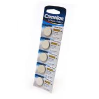Батарейка Camelion CR2032 BL5 Lithium 3V (5/50/1800)