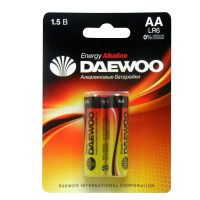 Батарейка Daewoo ENERGY LR6 AA BL2 Alkaline 1.5V (2/20/480)
