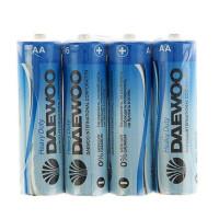 Батарейка Daewoo R6 AA Shrink 4 Heavy Duty 1.5V (4/60/960)