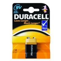 Батарейка Duracell Basic Крона 6LR61 BL1 Alkaline 9V (1/10)