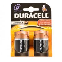 Батарейка Duracell Basic LR20 D BL2 Alkaline 1.5V (2/20)
