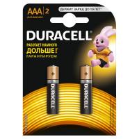 Батарейка Duracell Basic CN LR03 AAA BL2 Alkaline 1.5V (2/20)