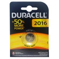 Батарейка Duracell CR2016 BL1 Lithium 3V (1/10/100)
