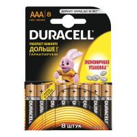 Батарейка Duracell Basic LR03 AAA BL8 Alkaline 1.5V (8/80)