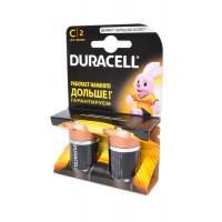 Батарейка Duracell Basic LR14 C BL2 Alkaline 1.5V (2/20/6440)