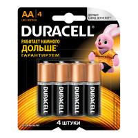 Батарейка Duracell Basic CN LR6 AA BL4 Alkaline 1.5V (4/48/192)