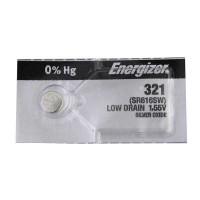 Батарейка Energizer 321 BL1 Silver Oxide 1.5V 0%Hg (1/10/100/1000)