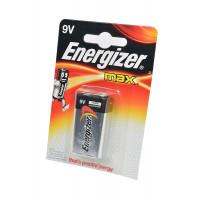 Батарейка Energizer MAX Крона 6LR61 BL1 Alkaline 9V (1/12)