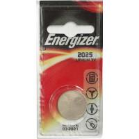 Батарейка Energizer CR2025 BL1 Lithium 3V (1/10/140)