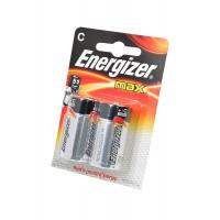 Батарейка Energizer MAX LR14 C BL2 Alkaline 1.5V (2/24)