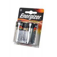 Батарейка Energizer MAX LR20 D BL2 Alkaline 1.5V (2/24)