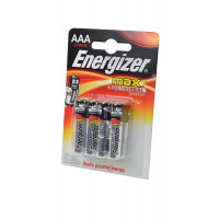 Батарейка Energizer MAX+Power seal LR03 AAA BL4 Alkaline 1.5V (ВЫГОДНО!) (4/48)