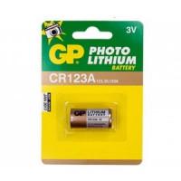 Батарейка GP CR123A BL1 Lithium 3V (1/10/450)