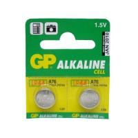 Батарейка GP G13/LR1154/LR44/357A/A76 BL2 Alkaline 1.5V отрывные (2/20/960)
