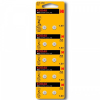 Батарейка Kodak G11/LR721/LR58/362A/162 BL10 Alkaline 1.5V (10/100/1000)
