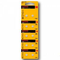 Батарейка Kodak G5/LR754/LR48/393A/193 BL10 Alkaline 1.5V (10/100/1000)