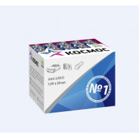 Батарейка Космос LR03 AAA BOX20 Alkaline 1.5V (20/640)
