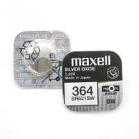 Батарейка Maxell 363/364 BL1 Silver Oxide 1.55V 0%Hg